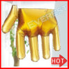 2018 New Product Transparent Embossed PE Disposable Gloves for Food Preparation