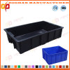 Supermarket Fruit and Vegetable Plastic Crates Containers Transport Box (ZHtb27)