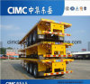 Cimc 40FT or 45FT 50-60t Triple Axle Extendable Container Flatbed Semi Trailer/CKD/SKD