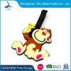 Free Samples High Quality Custom Logo Printed Blank Rubber ID Label Soft PVC Travel Bag Tag Customer Design Silicone Luggage Tag (41)