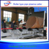 Full Automatic 2000mm Diameter Large Pipe CNC Cutter with Power Roller