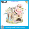 Delicate Secret Ceramic Fairy Flower Garden House