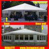 2018 Popular Transparent Multi Side Tent for Party Diameter 8m 30 People Seater Guest
