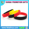 Hot Sale Cheap Segmented Silicone Wristband with Debossed (TH-8479)