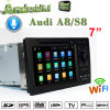 Carplay Android GPS Navigatior for Audi A8/S8 DVD Player with GPS RDS Bt 3G/WiFi DSP Radio