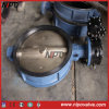 Wafer Type Butterfly Valve in Handle /Worm Gear