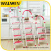 5 Step Hot Sale Folding Wide Step Handrail Ladder