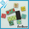 Beautiful Small Broken Flower Magnetic Epoxy Dome Sticker