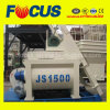 Beton Mixer Machinery, Js1500 Twin Shaft Concrete Mixer of 75-90m3/H