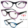 Ladies Plastic Reading Glasses with Cobweb Pattern (WRP508329)