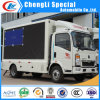 HOWO 4X2 LED Panel Mobile Display Truck for Sale