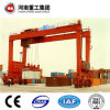 FEM/ISO Standard 50t-500t Rubber Tyre Gantry Crane With CE/SGS Certificate For Container Lifting