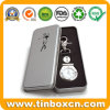 Rectangular Golf Watch Metal Tin Box for Promotional Gifts Packaging