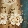 Td006b Decorative Flower Handmade Oil Painting
