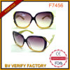 Popular Trendy Plastic Frame Sunglasses with Smoke Lens