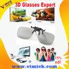 Customer Plastic Reuseable Circular Polarized 3D Clip-on Eyewear Glasses