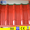 Prepainted galvanized corrugated metal roof covering