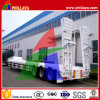 Hydraulic Ladder Lowbed Flat Semi Trailer