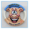 Pet Products Toys Pig Pattern Cotton Rope Dog Frisbee