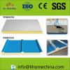 Steel Building Material Rockwool Glasswool Roof Sandwich Panel