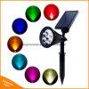 7 LED Solar Power Garden Lamp Spot Light Outdoor Lawn Landscape Spotlight Lamp