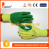 Ddsafety 2017 Cotton Green Rubber Coatd Glove