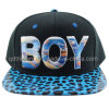Flat Bill Sublimation Print Snap Back Baseball Cap (TMFL0570-1)