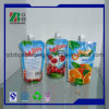 Custom Printed OEM Irregular Plastic Fruit Juice Beverage Packaging Pouch Bag