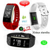 Fitness Waterproof Smart Bracelet with Heart Rate Monitor S2