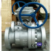 Trunnion Mounted Ball Valve 600lb 6inch with Worm Operated
