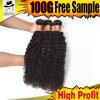Grade 9A Brazilian Hair Pieces of Curly Weave