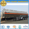 Fuwa 3 Axles Tanker Trailer 45kl Aluminium Alloy Fuel Tanker