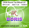 Cr39 1.499 Round Top Bifocal UC 70/28mm Optical Lens