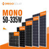 Moregosolar Monocrystalline Solar Cell Panel 100W - 350W with Cheap Price