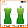 Latest Design Gradually Changing Color Plastic Salt Pepper Shaker