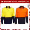 Wholesale Custom Made Reflective Cotton Work Wear Polo Shirts (ELTSPSI-11)