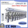 Gwasy-B1 8 Color Rotogravure Printing Machine for Plastic Film 160m/Min
