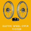 Greenpedel 2019 Electric Wheelchair Motor Conversion Kit 24V 250W Double Motors Wheel Chair Kit Modification