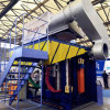 New Energy-Saving 3000kg Steel Shell Induction Furnace for Scrap Steel Heating Melting and Casting
