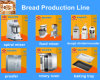 Industrial Bakery Bread Production Line with Ce ISO 9001 Manufacturer