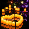 Longest Lasting] Battery Operated Flickering Flameless LED Votive Candles
