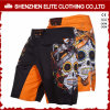 Wholesale Black Sublimation Printing Custom Polyester MMA Shorts (ELTMMJ-143)
