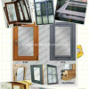 Real Easte Project Design Window and Doors, All Kinds of Window and Door Made in China Origin Manufactory Aluminum Frame Window