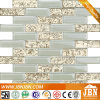 Golden Glass Mosaic for Kitchen Wall (G827001)