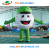 Outdoor Advertising Inflatable Golf Ball Moving Cartoon for Opening Ceremonies or Promotion Events
