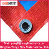 Polyethylene Fabrics Waterproof PE Tarpaulin with Eyelets Reinforce