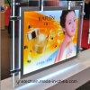 Indoor Public Media Double Sided Hanging LED Crystal Backlit film Light Box