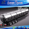 3 Axis Stainless Steel 304 Fuel Tanker Semi Trailer