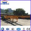 3 Axle 40FT /20FT Skeleton Container Transportation Truck Skeleton Trailer