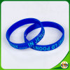 Hot Sales Silicone Bracelet with Debossed Ink Filled Logo